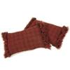 22. canestrino, rosso-testa di moro, due cuscini 32x46-53
