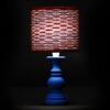 83. pesciolini, rosso-corda-azzurro, ventolina d15 h14, luce accesa